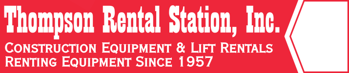 Thompson Rental Station - Equipment rentals and party rentals serving the Chicagoland Suburban Area