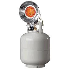 Where to find Propane heater 12K BTU tank top style in Bensenville