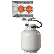 Where to find Propane heater 24k BTU tank top style in Bensenville