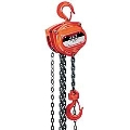 Where to rent Chain fall hoist 1 ton 20  drop in Bensenville IL