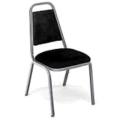 Rental store for Chair black padded stacking in Bensenville IL