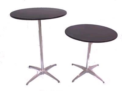 Where to find Coctail 30  pedestal table 30-42  high in Bensenville