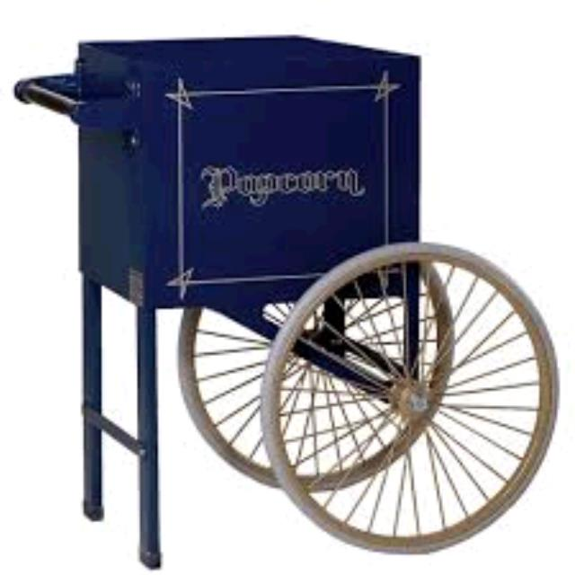 Where to find cart for popcorn machine in Bensenville