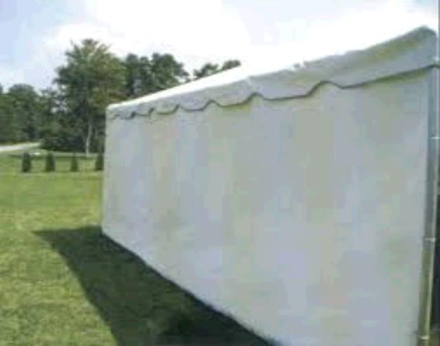 Where to find Tent wall 15  solid white in Bensenville