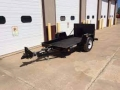 Where to rent 5x12  open trailer 4000lb capacity in Bensenville IL