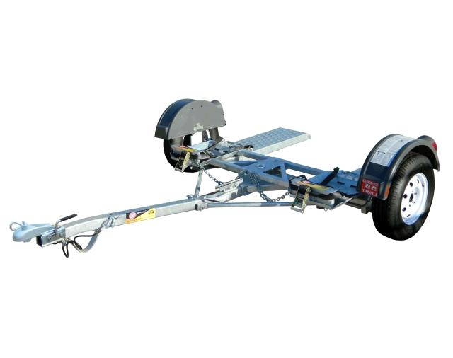 Car tow dolly with 2 wheel straps rentals bensenville il for Motorized trailer dolly rental