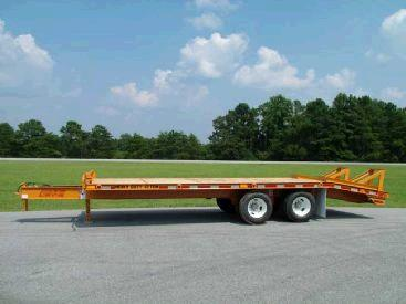 Where to find Flat bed trailer 20000lbs max 8 x25 in Bensenville