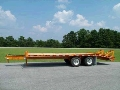 Where to rent 8x25  flat bed trailer 20000lbs max in Bensenville IL
