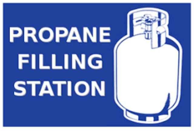 Where to find Propane refill 100lb tank in Bensenville