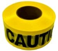 Rental store for Caution tape 1000  roll yellow black in Bensenville IL