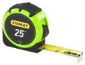 Where to rent Stanley tape rule 25  hi-viz in Bensenville IL