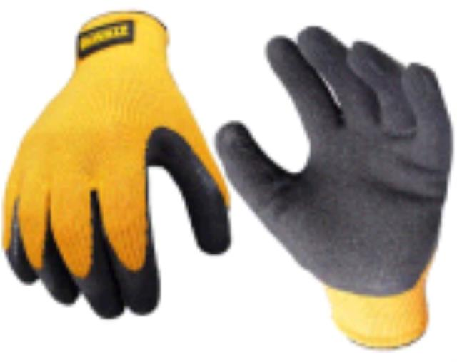 Where to find Gloves Dewalt textured grip X-large in Bensenville