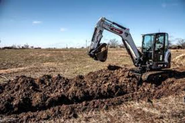 Where to find Excavator Bobcat 12.5  dig depth in Bensenville