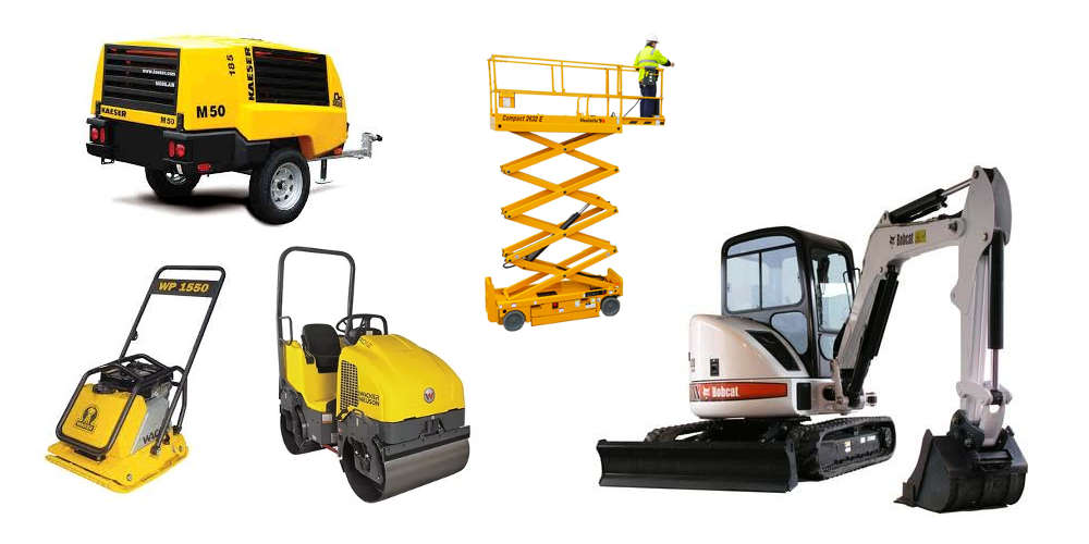Equipment Rentals in Lombard IL, Des Plaines IL, Bensenville IL, Chicago