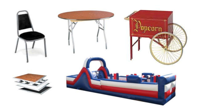 Party Rentals in Chicagoland Suburban Area